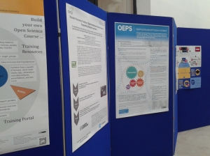 OEPS poster at OER15