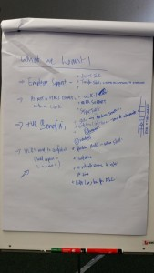 What we learnt about engaging with free open and online resources, outcomes of the second round of workshops