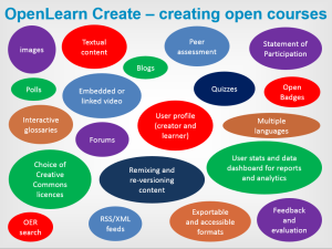 OLC creating open courses