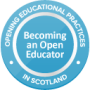 OUT NOW! Becoming an Open Educator open course