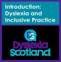 Dyslexia 1 badge
