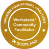 Workplace Community Facilitator badge