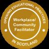 Workplace Community Facilitator badge