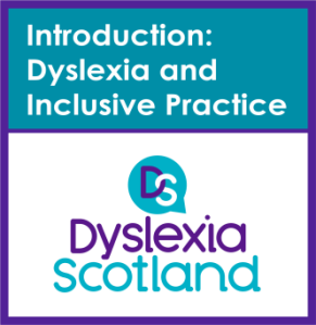Introduction to Dyslexia and Inclusive Practice badge
