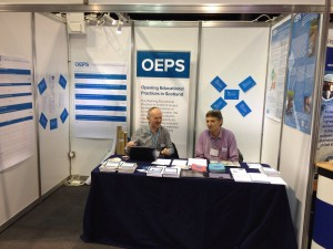 OEPS stall at the Gathering 2017